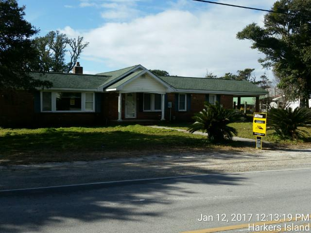 Carteret County foreclosures – 1264 Island Rd, Harkers Island, NC 28531