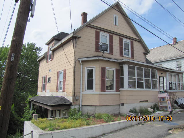 Worcester County foreclosures – 36 Rockland St, Fitchburg, MA 01420