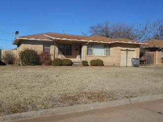 Comanche County foreclosures – 1614 Nw 27th St, Lawton, OK 73505