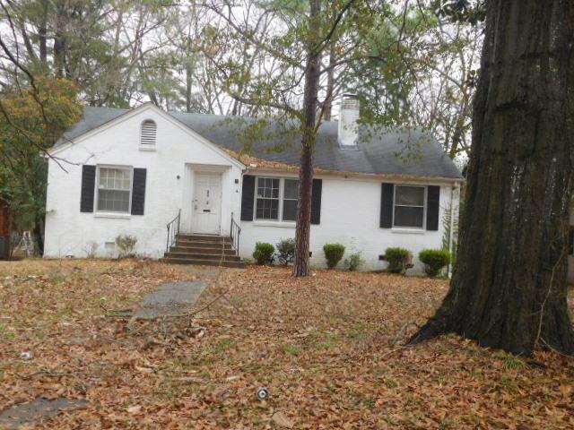 Montgomery County foreclosures – 3143 Gilmer Ave, Montgomery, AL 36105