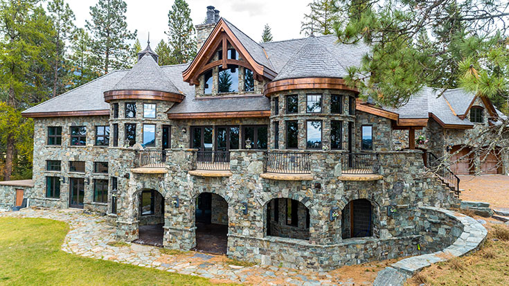 Kalispell Mt Luxury Estate Auction Williams Auction